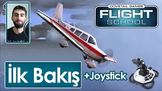 Dovetail Games Flight School - İlk Bakış Logitech Extreme 3D Pro Joystick (Türkçe #1)
