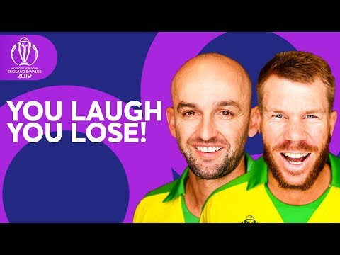 YOU LAUGH, YOU LOSE | Nathan Lyon vs David Warner | ICC Cricket World Cup 2019