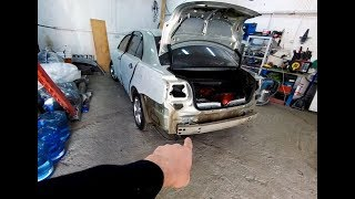 Нестандартная замена арки крыла. Ремонт Toyota Avensis #1.