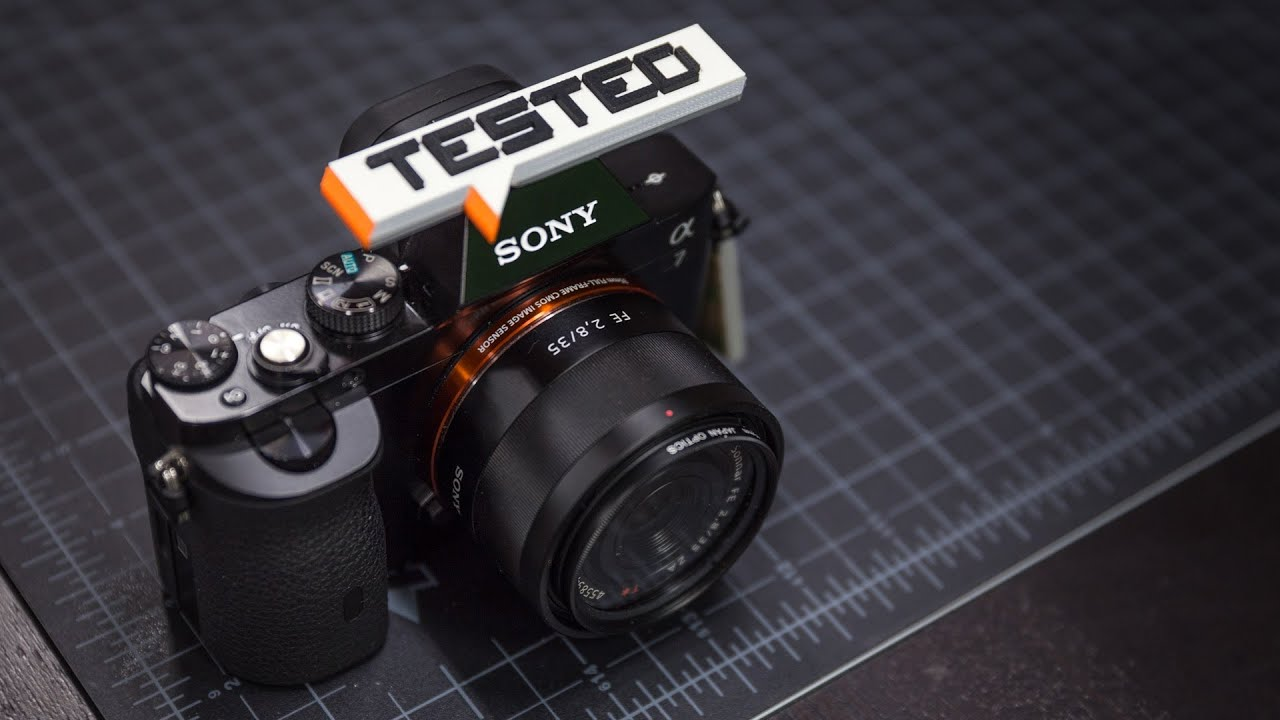 tested in depth sony a7 full frame mirrorless camera youtube