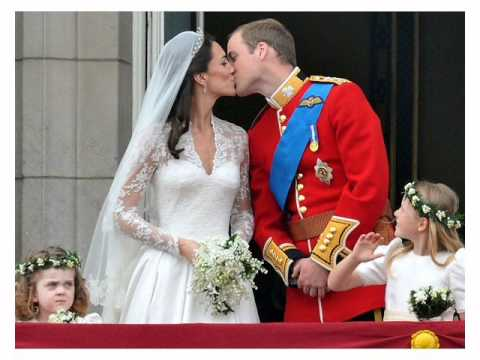 Kniglicher Kuss  Royal kiss  Kate und Prinz William  29 April 2011  YouTube