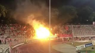 2018年9月15日 CSKAソフィア、炎のサポーター VS チェルノ・モレ First Professional Football League (Bulgaria)