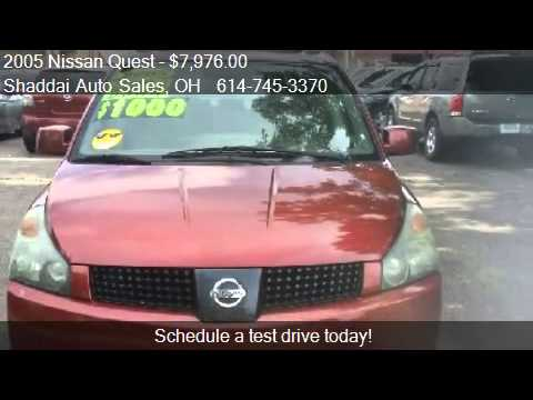 2005 Nissan Quest 3.5 SL  for sale in Whitehall, OH 43213 at