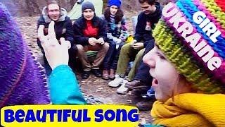 Молодая украинка спела на украинском. Киев. Все в шоке!