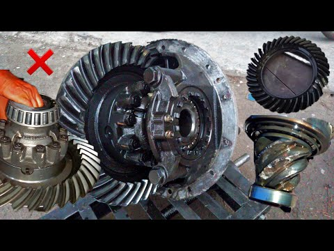 How to Repair Differential GEAR OF A Isuzu Truck ||  Rebuild ISUZU Truck Broken Rear Differential ||