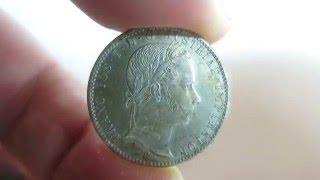 Austria 1⁄4 Florin Gulden 1860 B Kremnitz