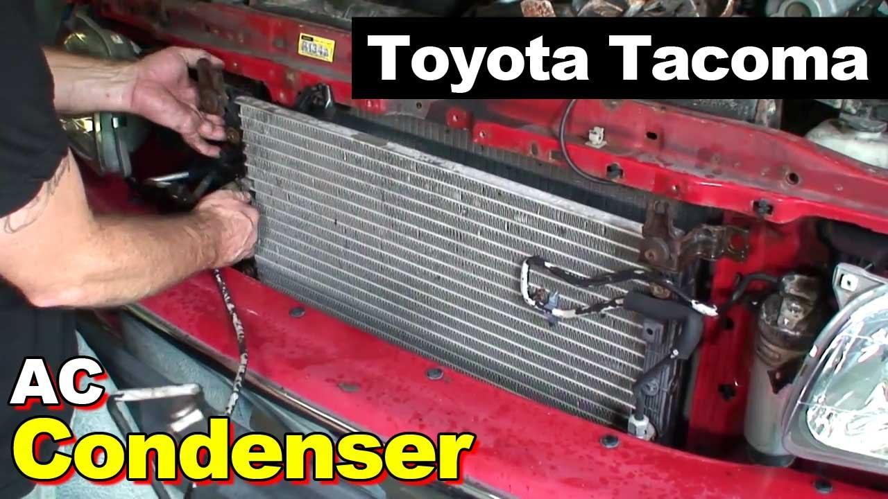 2007 Tacoma Headlights >> 2004 Toyota Tacoma AC Condenser - YouTube