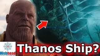 Thanos Infinity War Ship Was In The Venom Teaser Trailer Theory | Webhead