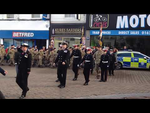 Remembrance Day 2018 Mansfield