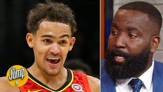Kendrick Perkins explains his Trae Young & Stephen Curry comparison tweet | The Jump