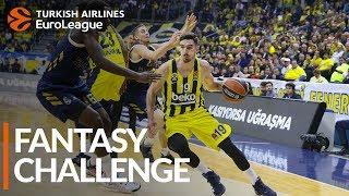 Turkish Airlines EuroLeague Regular Season Round 26: Fantasy Challenge