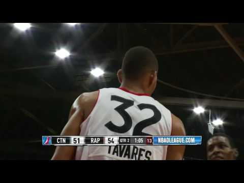 Raptors 905 Highlights: Double-Double for Edy Tavares - January 4, 2017