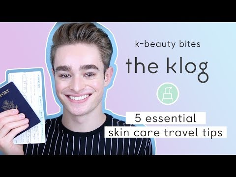 5 Essential Skin Care Travel Tips