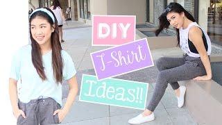 DIY Summer & Pinterest Inspired Shirts (Transform your Old Shirts!)