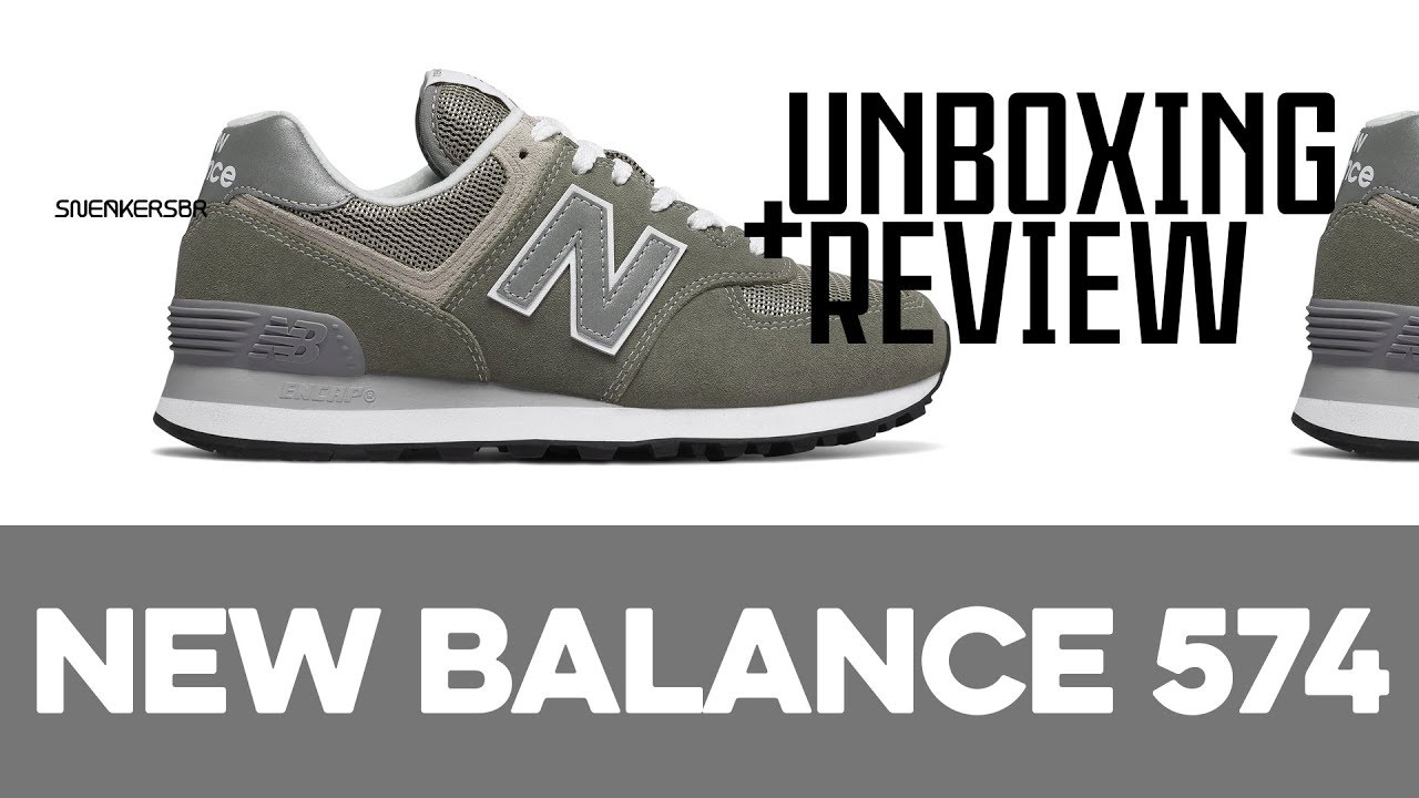 e0dd68ad1c2 UNBOXING+REVIEW - New Balance ML574GYE - YouTube