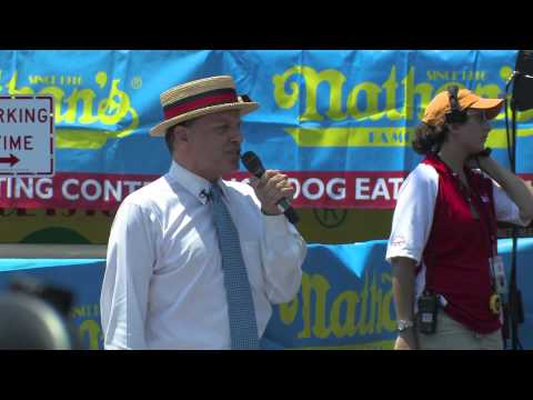 2012 Nathan's Famous Hot Dog Eating Competition RECAP
