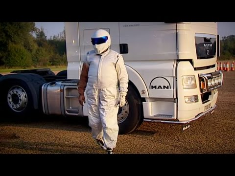 The Stig's Lorry Driving Cousin - Top Gear - The Stig - BBC