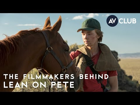 Lean On Pete's Charlie Plummer and Andrew Haigh on the ease of working with horses on set