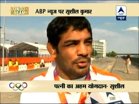 Wrestler Sushil Kumar thanks wife for victory