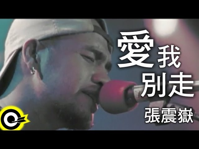張震嶽 A-Yue【愛我別走 Love me,don't go】Official Music Video