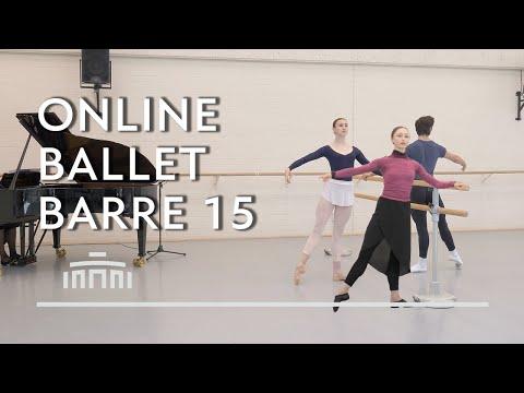 Ballet Barre 15 (Online Ballet Class) - Dutch National Ballet