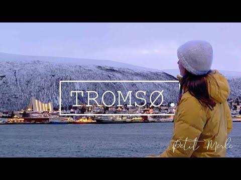 TROMSØ, NORWAY IN WINTER - 4K