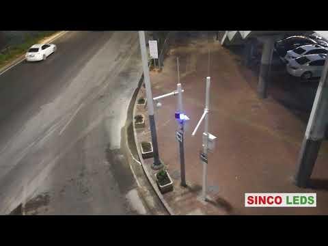 solar traffic warning light / solar led traffic warning light