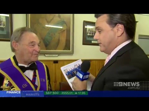 Nine News: Royal Order of Buffaloes RAOB