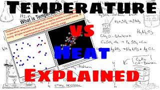 Temperature vs Heat - Explained