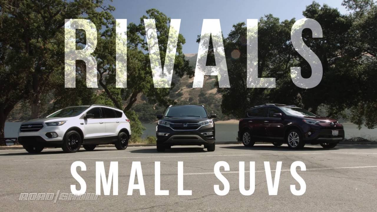 Rivals Ford Escape vs Honda CRV vs Toyota RAV4  YouTube