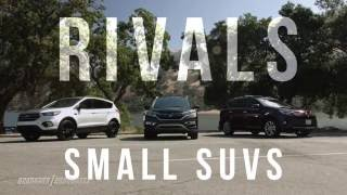 Video Rivals: Best-selling small SUVs put to the test on pavement and dirt download MP3, 3GP, MP4, WEBM, AVI, FLV Oktober 2018