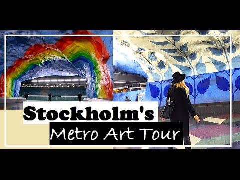 Stockholm's Metro Art Tour - Sweden