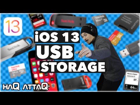 iOS 13 USB Flash Drives and Card Readers with iPhone | haQ attaQ