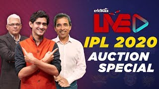 Cricbuzz Live, Ipl 2020 Auction: As It Happened