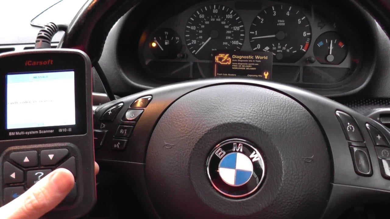 i910 ii turns off bmw e46 airbag warning light youtube. Black Bedroom Furniture Sets. Home Design Ideas