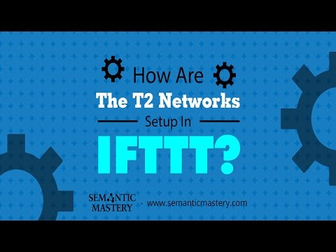 How Are The T2 Networks Setup In IFTTT? - Semantic Mastery