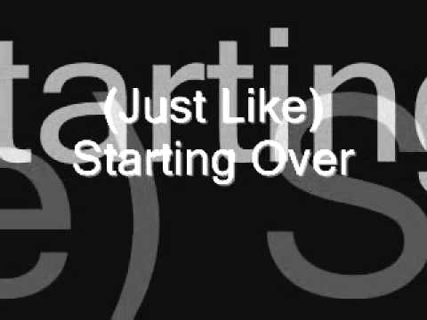 Lyrics Songs: (Just Like) Starting Over - John Lennon
