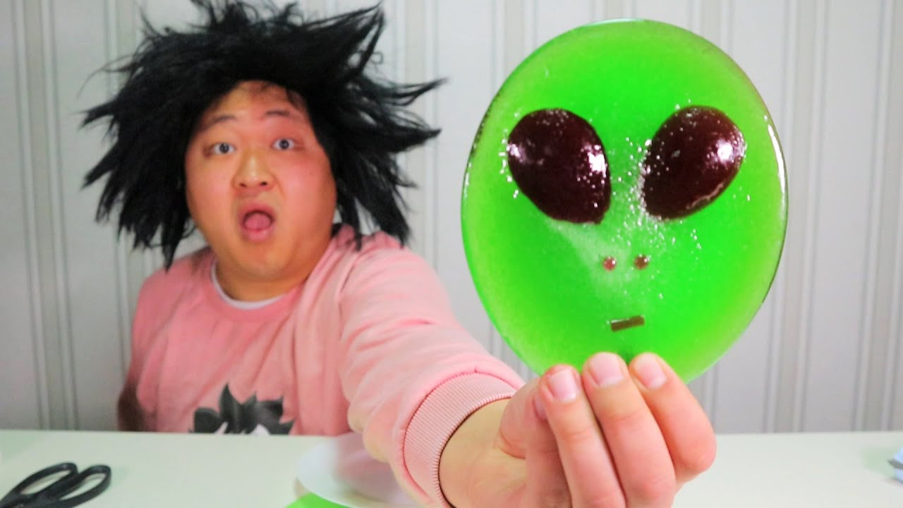 [bogil] 초대왕 외계인사탕 Alien candy 먹어보기~~🍭👽🍭👽🍭