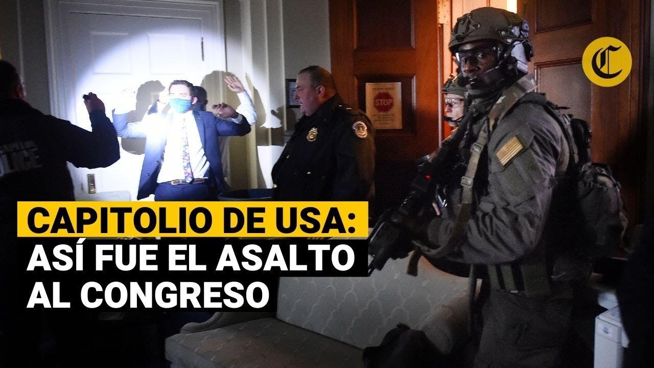 EE.UU.: Así fue el ingreso de los seguidores de Donald Trump al Capitolio