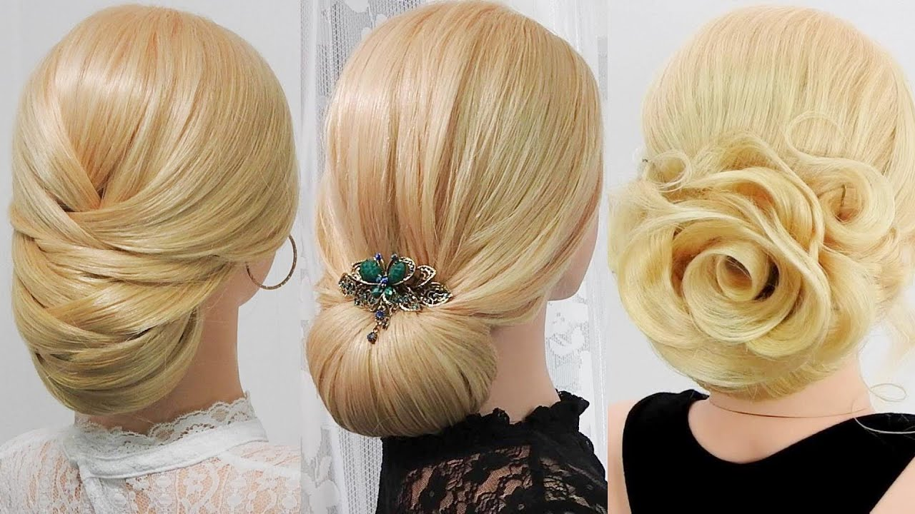 【Elegant chiyon】Adult cute party hairstyle//Chie