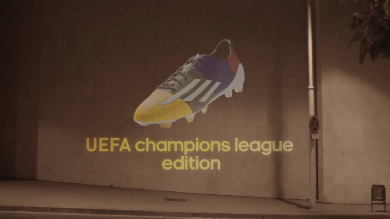 c6c87ce01e0 leo messi the adizero f50 messi uefa champions league edition adidas  football