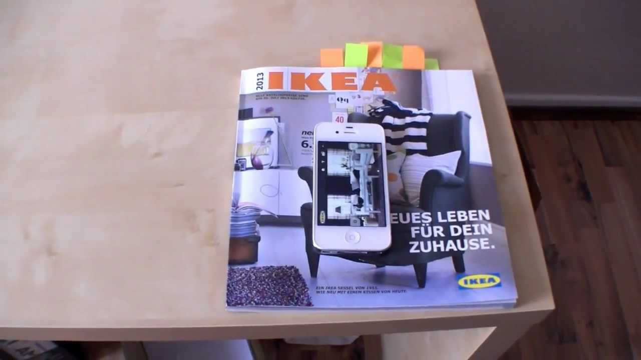 ikea 2013 catalog with augmented reality english youtube. Black Bedroom Furniture Sets. Home Design Ideas