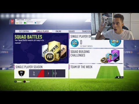 OMG I HAVE FIFA 18 ULTIMATE TEAM EARLY!! 😱