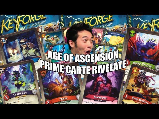 Keyforge: Age of Ascension - Anteprima nuove carte (con Dammat96)