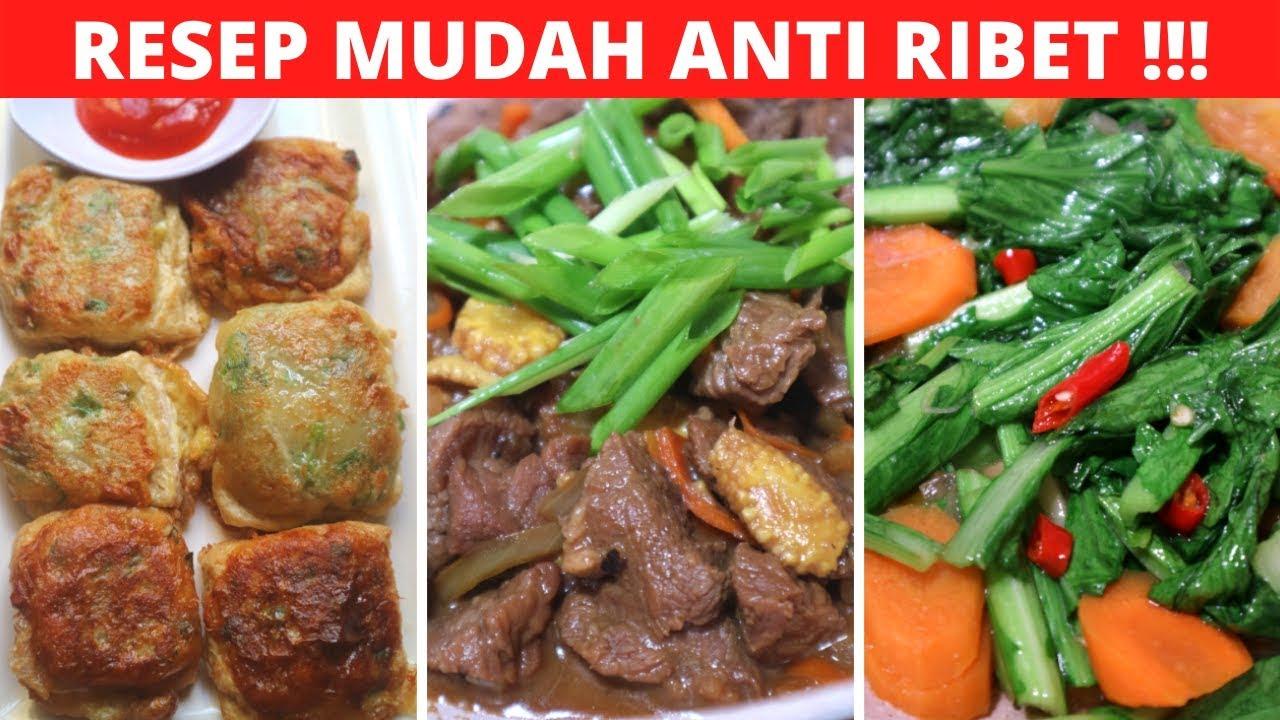 3 MENU IDE MASAKAN SEHARI HARI PART 70 Resep Masakan ...