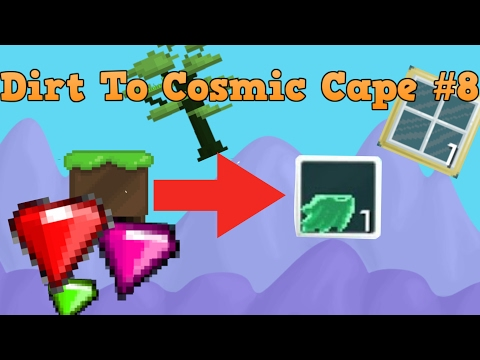 Investing All The World Lock !   Dirt To Cosmic Cape # 8   Growtopia