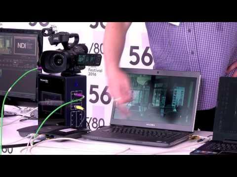 Workshop - Nové IP technologie v TV live produkci a video instalacích.