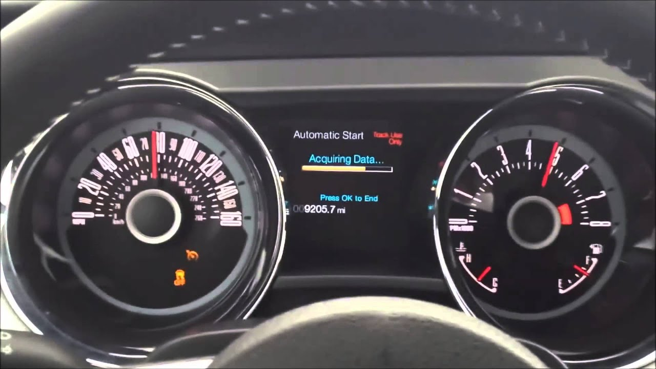 Ford Mustang GT 5.0 (2013) TOP SPEED [II] - YouTube