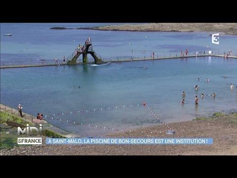 La piscine Bon-Secours, une véritable institution de Saint-Malo