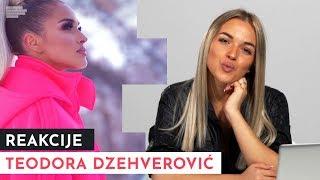 Teodora Džehverović: Sama precrtavam usne, ne krivite šminkere! | MONDO REAKCIJE | S01E15